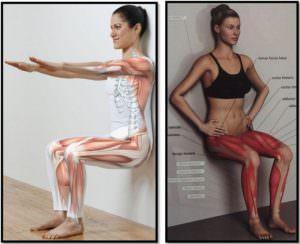 Упражнение стульчик мышцы