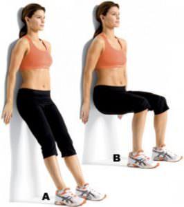 Упражнение стульчик техника выполнения