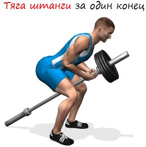 Tyaga-shtangi-za-odin-konets-logo Тяга штанги за один конец. Изучаем все тонкости и секреты