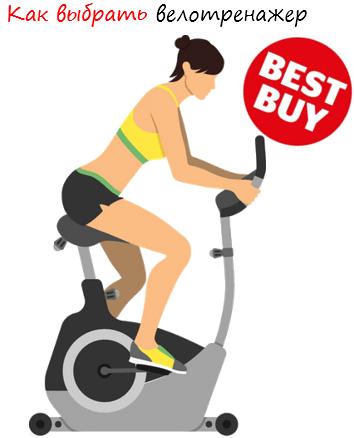 Как выбрать велотренажер лого