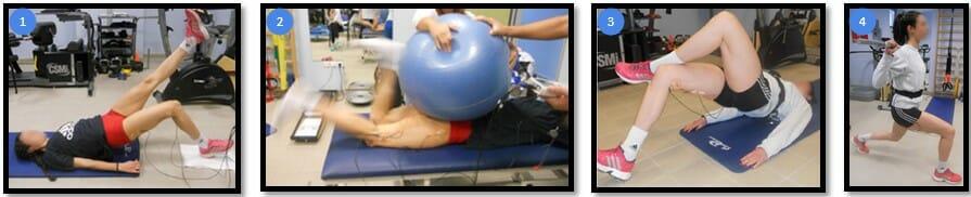 лучшие упражнения для бицепса бедра, данные ЭМГ
