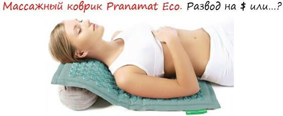 коврик Pranamat лого