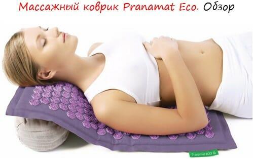 массажный коврик pranamat лого