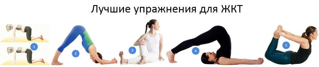 лучшие упражнения для жкт