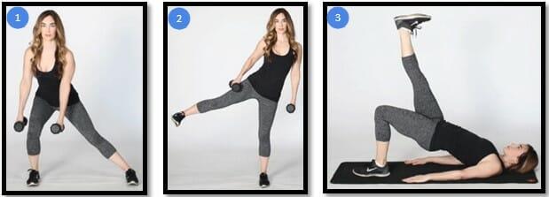 Как сделать бедра шире упражнения 1