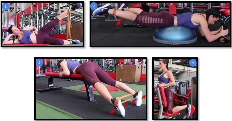 Как сделать бедра шире упражнения 2