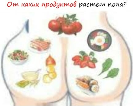 Рост ягодичных мышц