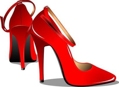 каблуки и рост ягодиц