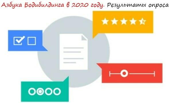 Азбука Бодибилдинга в 2020 году. Результаты опроса лого