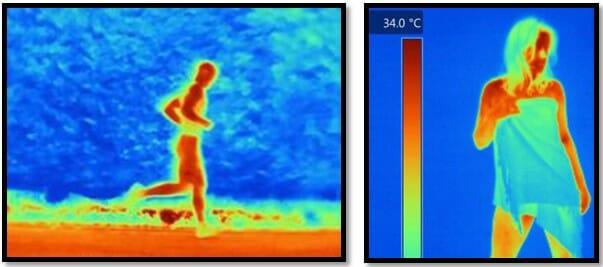 ответная реакция организма, изменение температуры тела