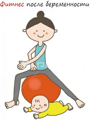 фитнес после беременности лого