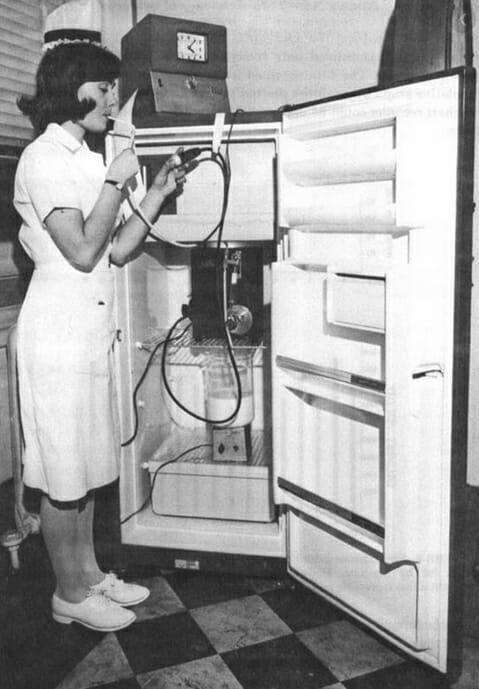 Аппаратная диета эксперимент 1965